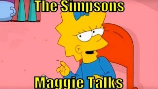 The Simpson Mag gie Center Talk Simpsons English