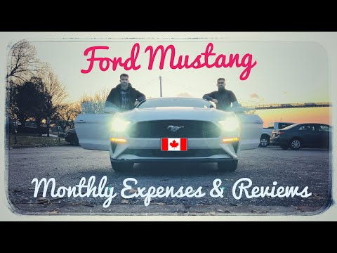 Ford Mustang: Monthly Expenses, Price, Insurance & Reviews EP01