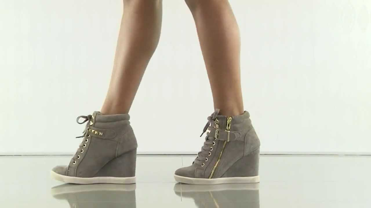 80781e942ed Obsess in Taupe Suede Steve Madden - YouTube