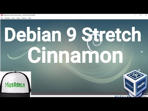 Debian 9 Cinnamon Desktop Installation + Guest Additions on Oracle VirtualBox [2017]