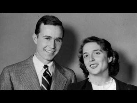 George and Barbara Bush: A love story