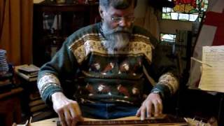 Nigel Campbell Pennick plays mountain dulcimer: The Man That Waters the Workers