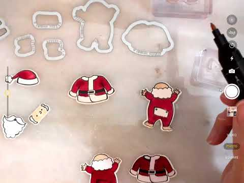 Santa's Suit Coloring and Card Making