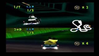 Walt Disney World Quest: Magical Racing Tour - Gameplay [PS1]