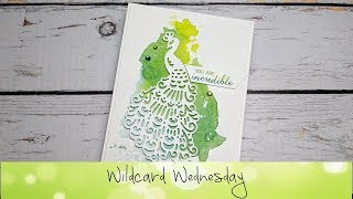 Royal Peacock Card featuring Stampin' Up!® Products