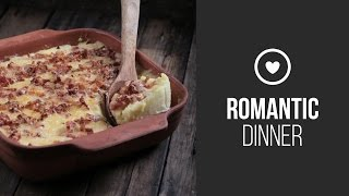 Cheddar Cheese Mashed Potatoes || Around the World: Winter Romantic Dinner || Gastrolab