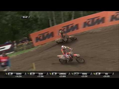 Jonass passes Prado MXGP of Czech Republic Race 1