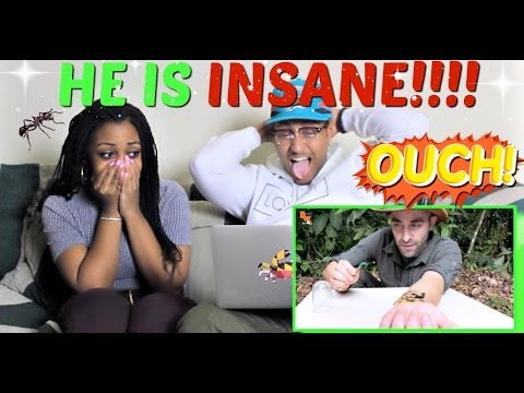 "Thumbnail: Brave Wilderness ""STUNG by a BULLET ANT!"" REACTION!!!!"