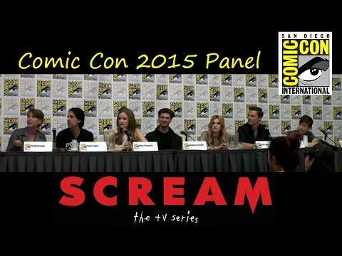 Scream The TV Series Comic Con Panel 2015