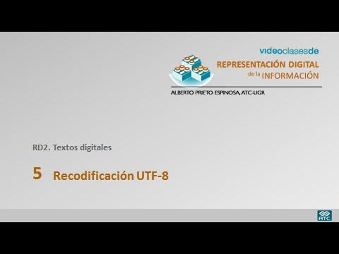 RD2 5 Codificacion UTF-8