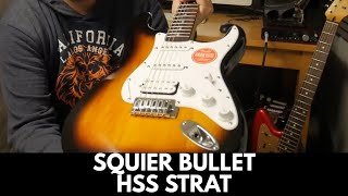 Squier by Fender Bullet Strat HSS | Review Demo