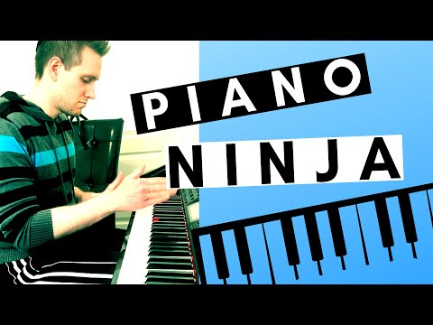 Why Karate Chopping Your Piano is a GREAT Way To Make Music!! - Piano Ninja