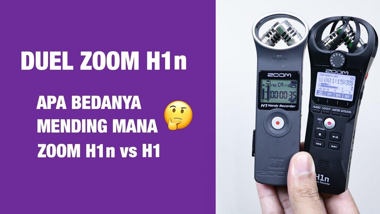 Review Zoom H1n Vs Zoom H1 Apa Bedanya Youtube