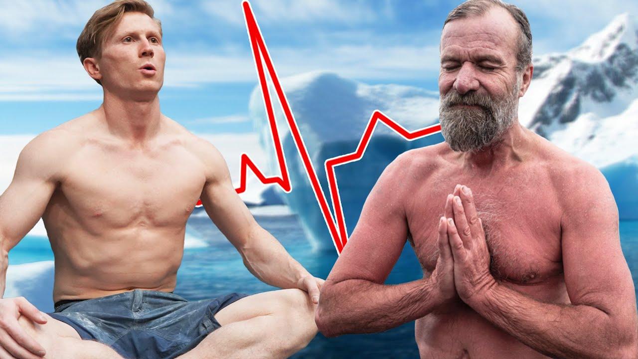 My crazy strength transformation using the Wim Hof Method!