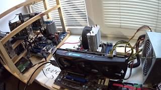 Тест в майнинге Gigabyte  Aorus GTX 1060 6gb Ethereum Zcash