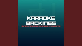 I Don't Wanna Talk About It (Karaoke Version) (Originally Performed by Indigo Girls)
