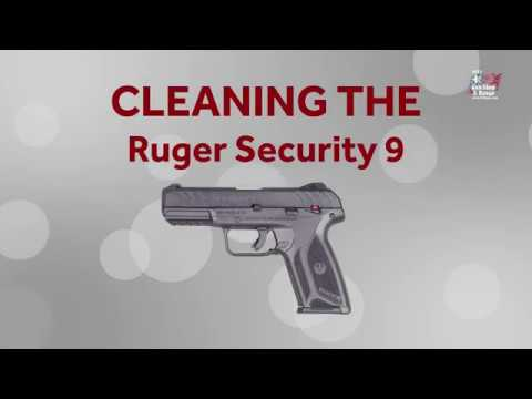 Cleaning the Ruger Security 9 - Bill's Gun Shop & Range