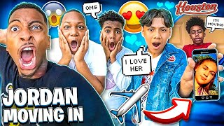 JORDAN IS MOVING IN WITH FUNNYMIKE & ADONNIS GOT A GIRLFRIEND!❤️