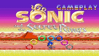 Sonic and Secret Rings FanGame Gameplay