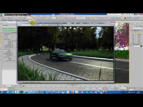 Make a curved road paving(eğimli yol kaplaması yapmak)