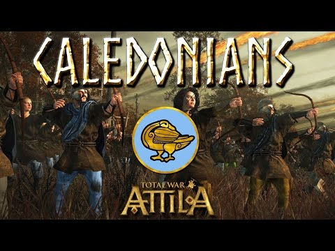 Total War Attila Factions - Caledonians