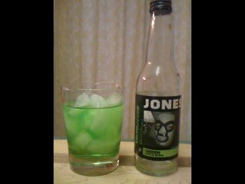 Jones Soda Company Green Apple Soda DJs BrewTube SODA REVIEW #3