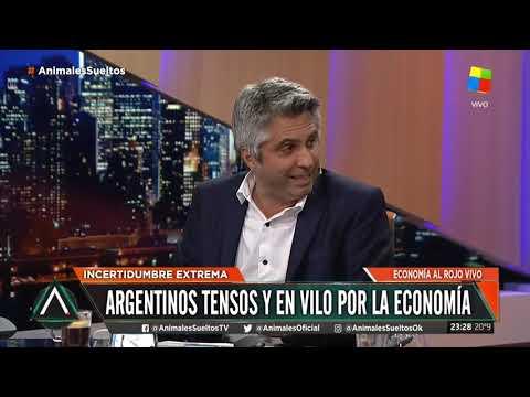 Argentinos tensos y en vilo por la economía