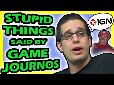 🎮 Top 5 Stupid Things Said by Game Journalists | Fact Hunt