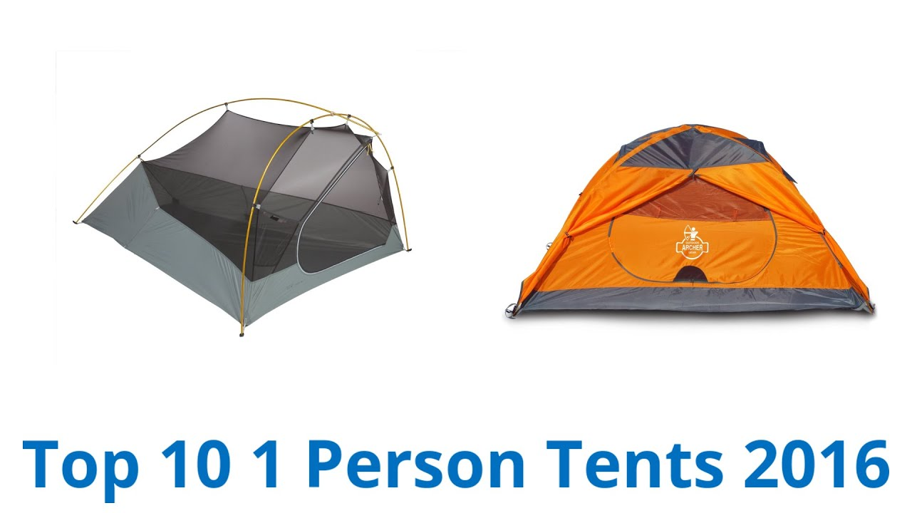 10 Best 1 Person Tents 2016  sc 1 st  YouTube & 10 Best 1 Person Tents 2016 - YouTube