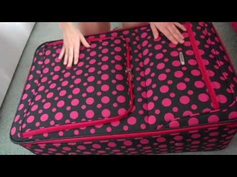 ASMR Suitcase Scratching and Zippers