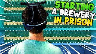 SNEAKING IN THE ALCOHOL! | Prison Boss #5 PSVR Gameplay