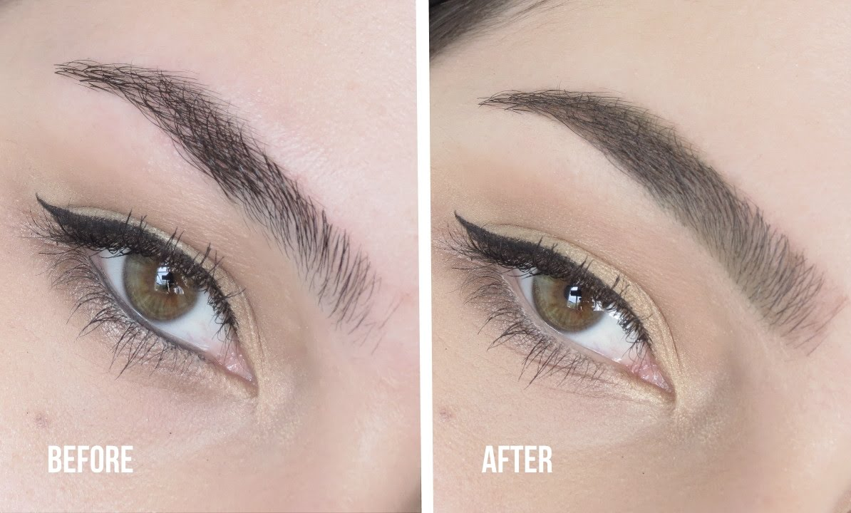 How To The Perfect Thick Eyebrow Tutorial Youtube