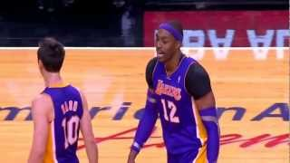 Repeat youtube video Steve Nash heated exchange with Dwight Howard