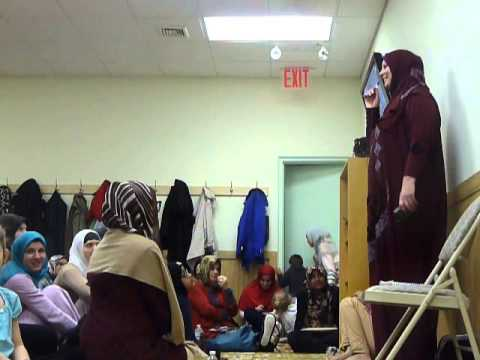 Lauren Booth at Bosnian Herzegovinian Islamic Center New York - part 2