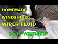 HOMEMADE WINDSHIELD WIPER FLUID || DO IT YOURSELF || DESI DRIVING SCHOOL