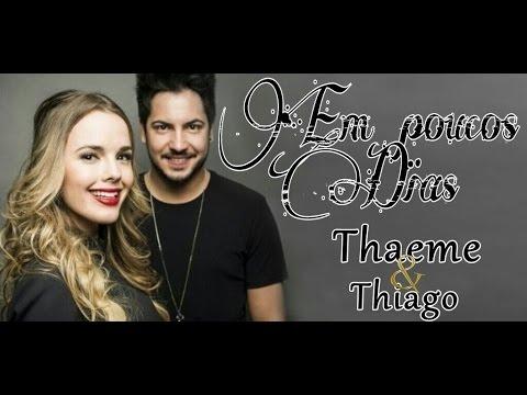 Em pouco dias - Thaeme e Thiago (Karaoke)