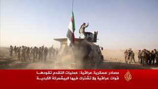 القوات العراقية على مشارف شرق الموصل