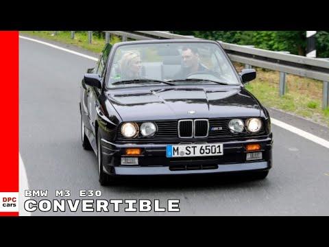 1989 Bmw M3 E30 Convertible Driven By Pro Golfer Martin