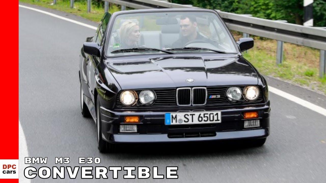 1989 Bmw M3 E30 Convertible Driven By Pro Golfer Martin Kaymer