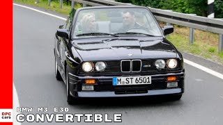 1989 BMW M3 E30 Convertible Driven By Pro Golfer Martin Kaymer