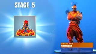 How to UNLOCK STAGE 5 Fortnite The Prisoner Skin KEY LOCATION..