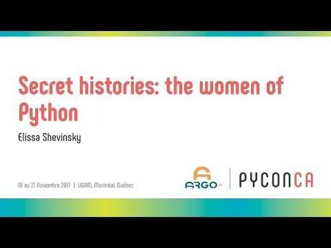 Image from Secret histories: the women of Python