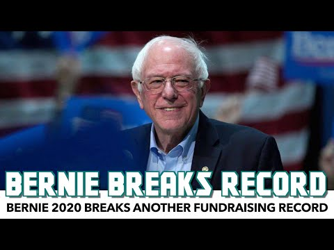 Bernie 2020 Breaks Another Fundraising Record