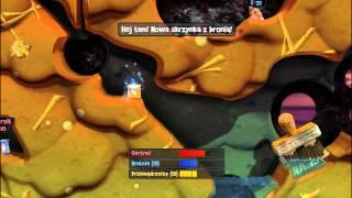 Worms Revolution gameplay PL