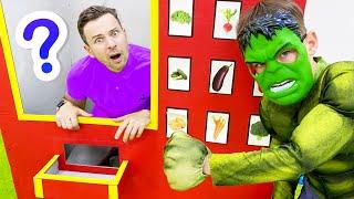 Five Kids Superheroes vending machine + More Children's Songs