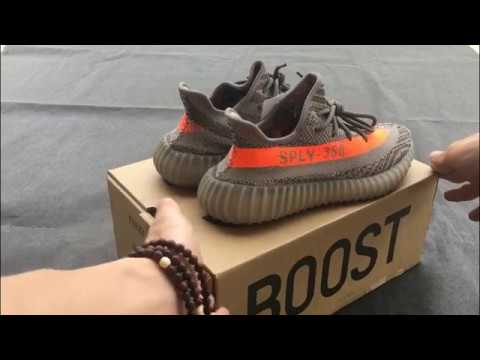 f7887e04d042 Adidas Yeezy Boost 350 v2  Beluga   Grey Orange - YouTube