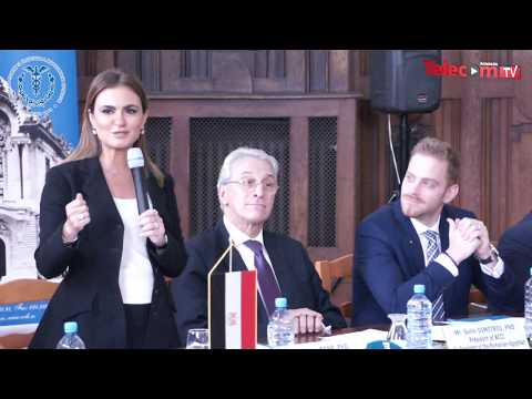 HE Dr. Sahar Nasr @ Egypt Romania Business Forum 2017
