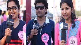 Chennai Turns Pink - Pink Ribbon Signature Campaign - BW