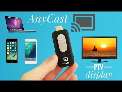 PTVdisplay Airplay WiFi Miracast Dongle REVIEW - Mirror your screen on any device for $10