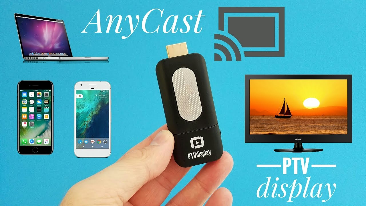 Ptvdisplay Airplay Wifi Miracast Dongle Review Mirror Your Screen Anycast M2 Plus Dlna To Hdmi Display On Any Device For 10